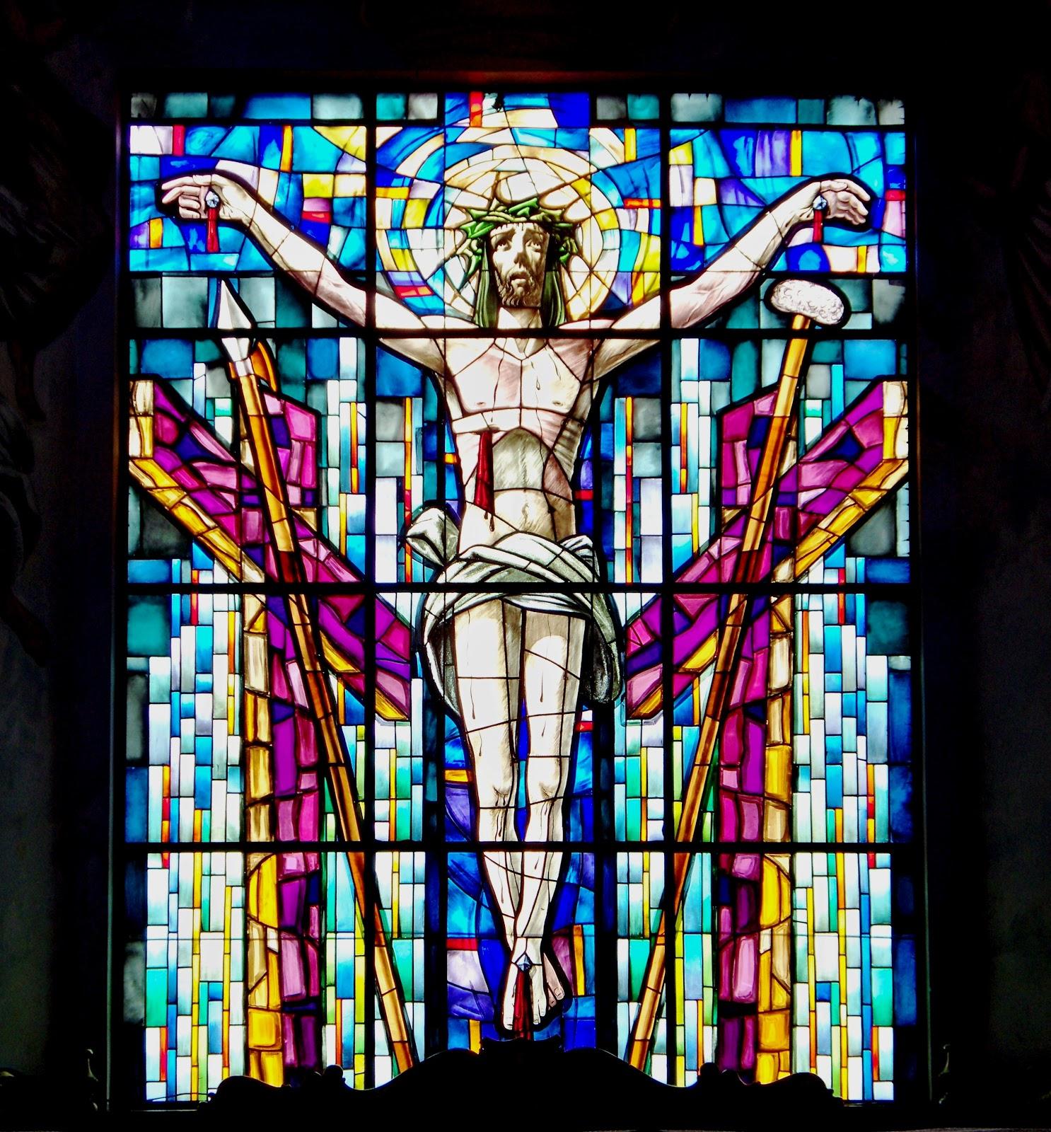 Restauraci n vitrales de la iglesia santuario inmaculada for Arquitectura sacro
