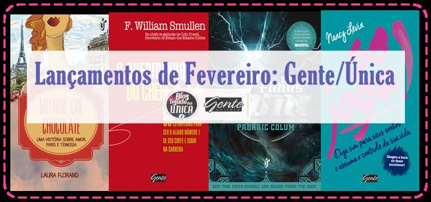 Central de Lançamentos: Editora Gente/Única.
