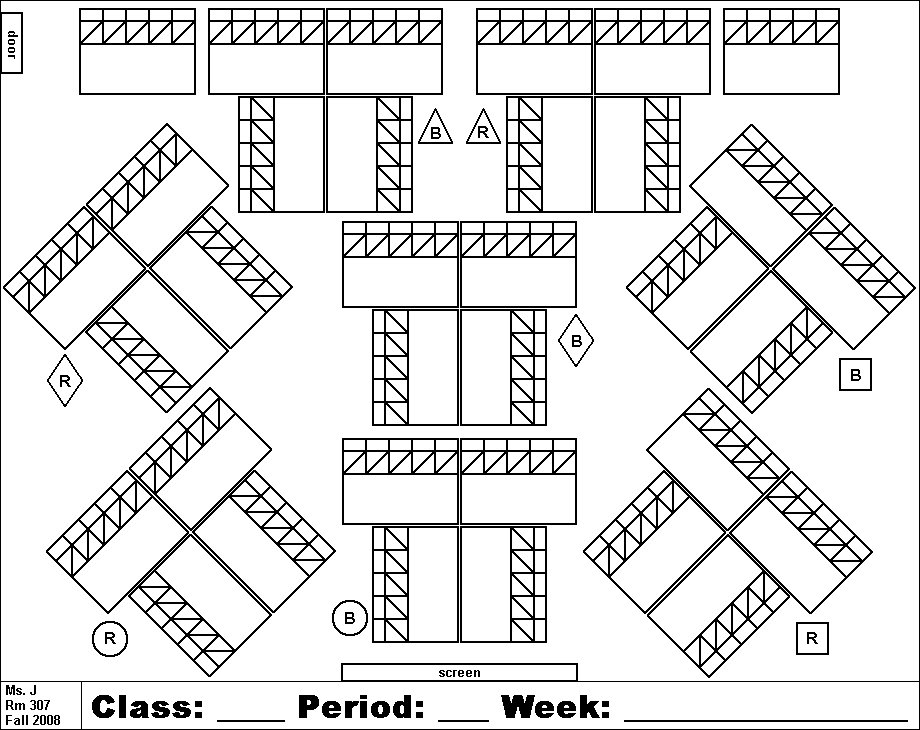 Doc612474 Classroom Seating Chart Template Free Free – Printable Classroom Seating Chart