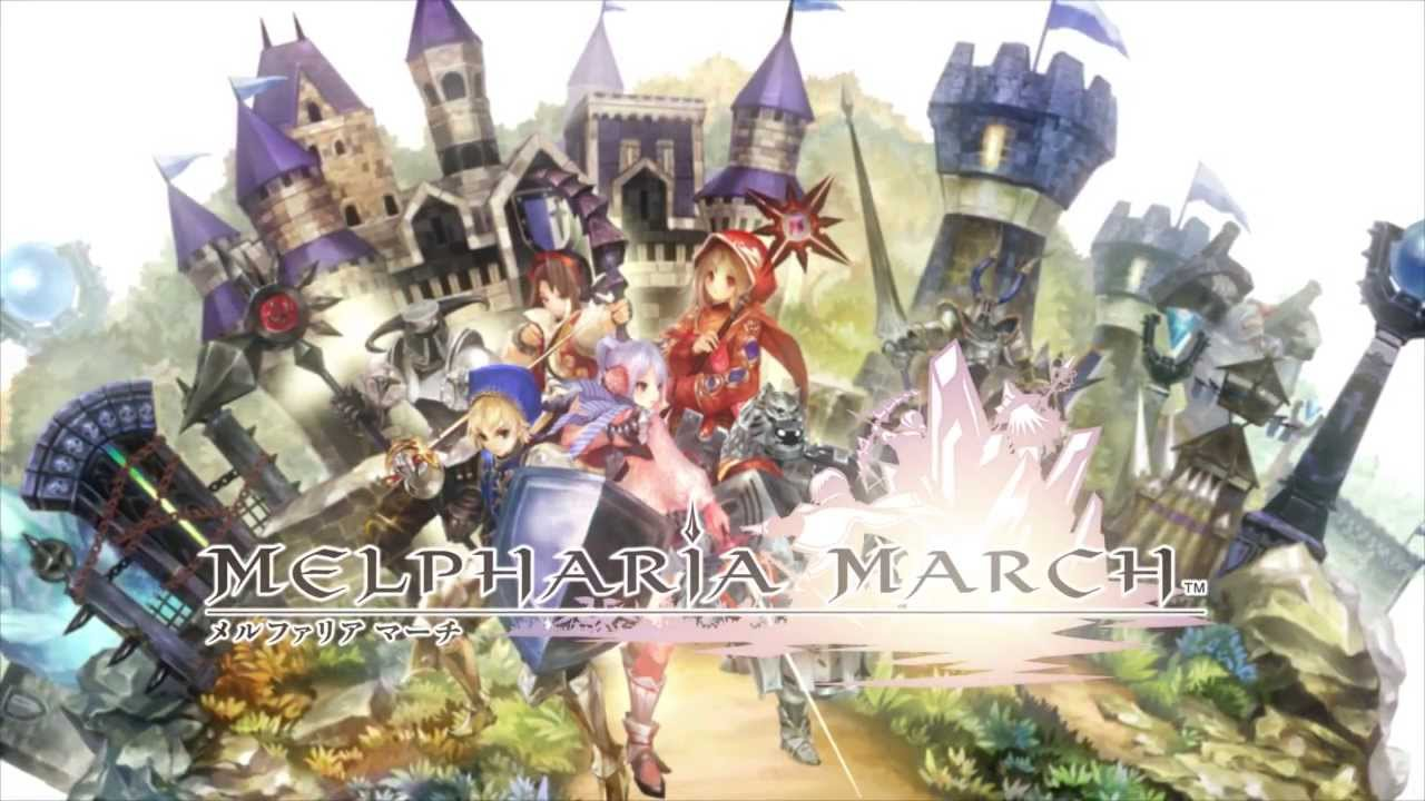 MELPHARIA MARCH (JP) Gameplay IOS / Android