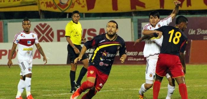 Caracas FC vs Aragua FC