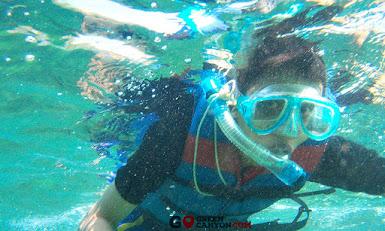 menyaksikan panorama underwater pangandaran