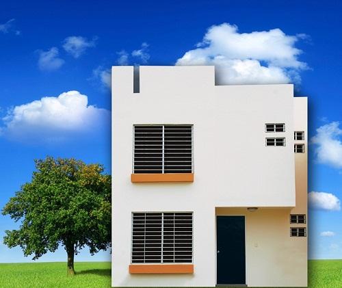 Fachadas de casas modernas fachada moderna modelo arce en for Modelos de fachadas modernas