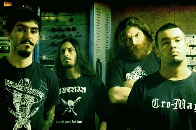 Foto de divulgação do site oficial da banda Matanza