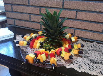 Tropical Fruit Kabobs