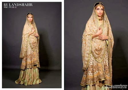 Pakistani bridal dresses 2014