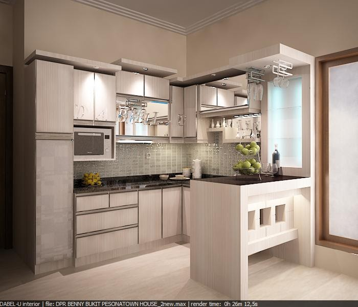 Desain Kitchen Set Hijau: Dabeludesign Interior: Kitchen Minimalis