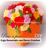 Caja crochet