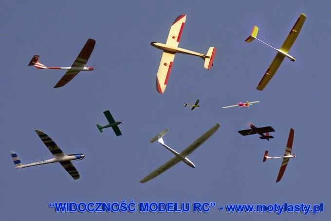 Widzialność i kolorystyka modeli latających RC