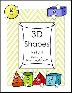 http://www.teacherspayteachers.com/Product/3D-Shapes-Mini-Unit-1057932