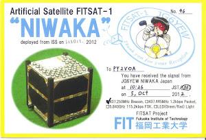 QSL SATELITE FITSAT-1