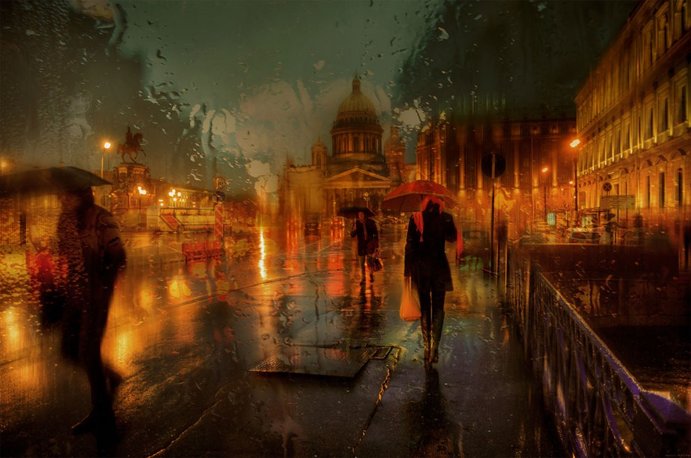 16-Eduard-Gordeev-Гордеев-Эдуард-Photographs-in-the-Rain-that-look-like-Oil-Paintings-www-designstack-co