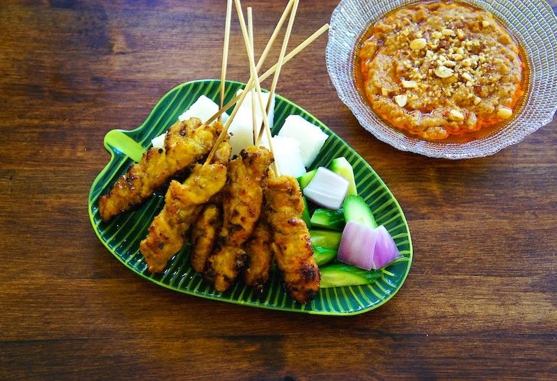 Seasaltwithfood: Malaysian Chicken Satay