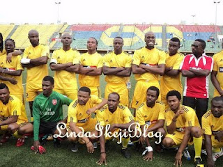 Photos From  Christy Essien Igbokwe's Novelty Match 2