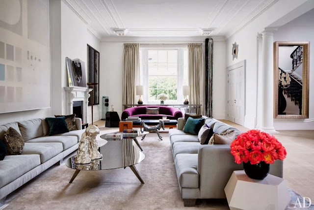 New home interior design a 19th century london townhouse for Avant garde interiors