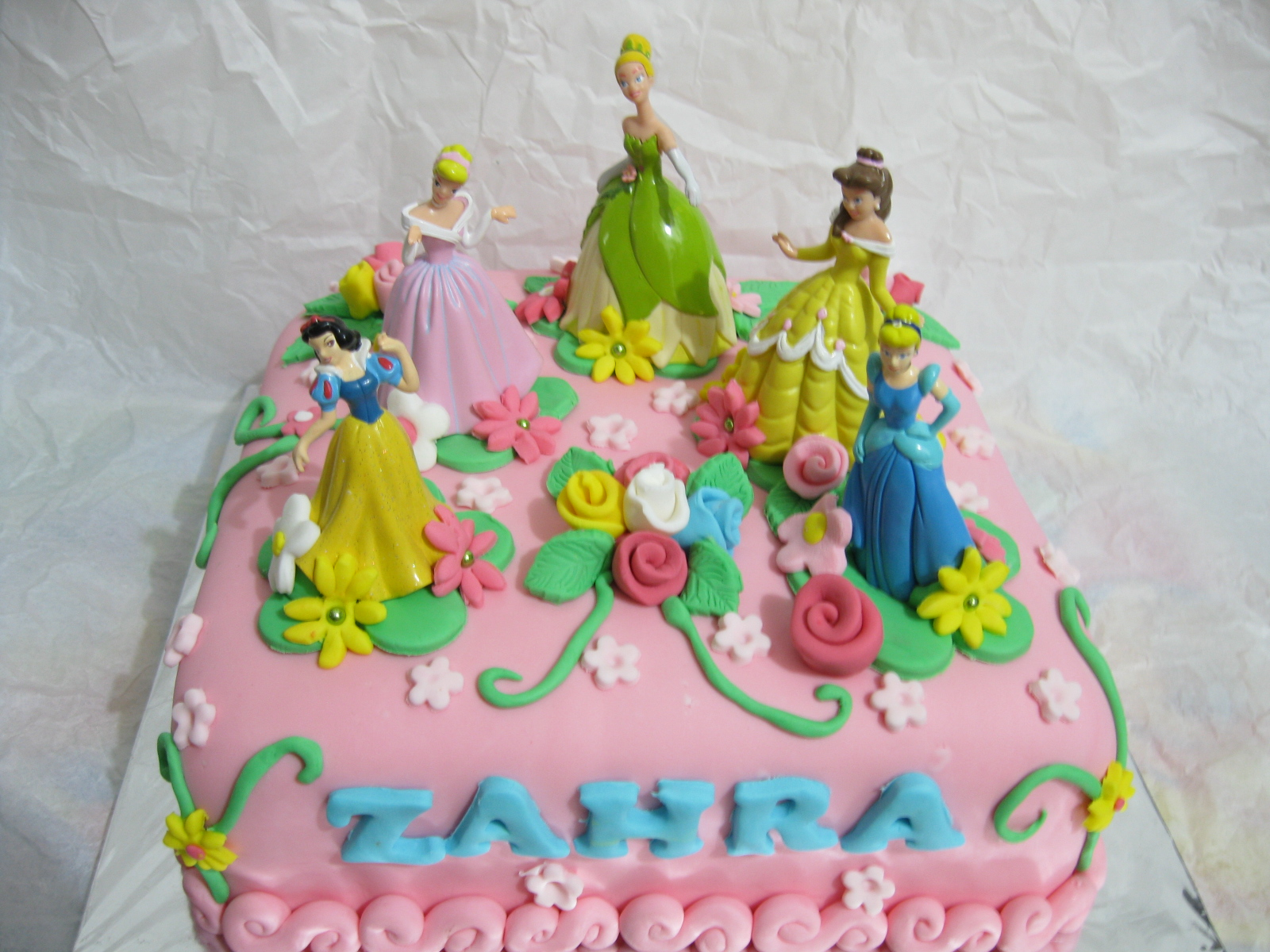 Dapur Kenari Princess Cake for Zahras Birthday