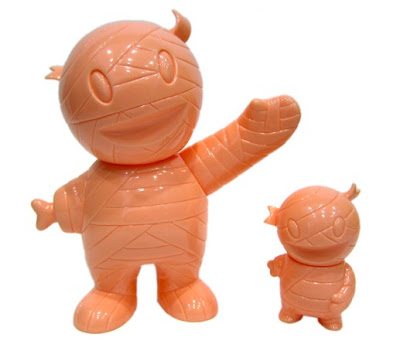 Super7 Mummy Boy Paint Contest - Unpainted Flesh Mummy Boy &amp; Pocket Mummy Boy