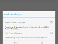 Fitur Tersembunyi Di Bbm Android Versi Terbaru (2.9.0)