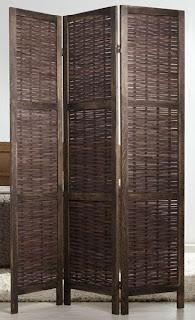 biombo separador de bambu, paraban de bambu