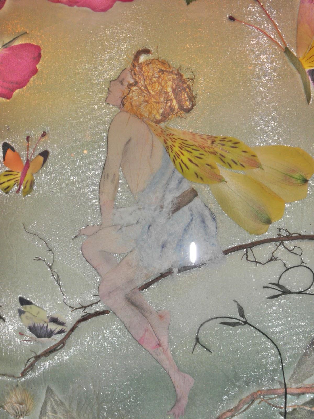 oshibana arte de prensar folhas e flores