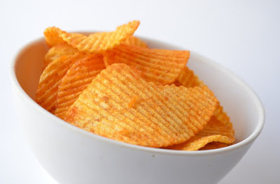 Keropok kentang yang mungkin ada kandungan MSG yang tinggi