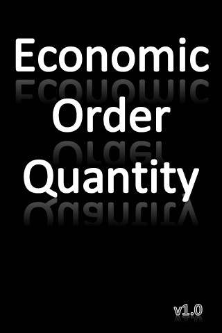 how to calculate economic order quantity
