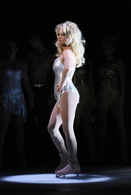 Pamela Anderson Dancing on Ice TV Show