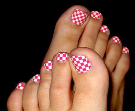 Nail Art Design 2014 Cool Pretty Toe Nail Art Designs