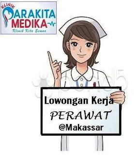 Lowongan Kerja Perawat Klinik Parakita Medika Makassar