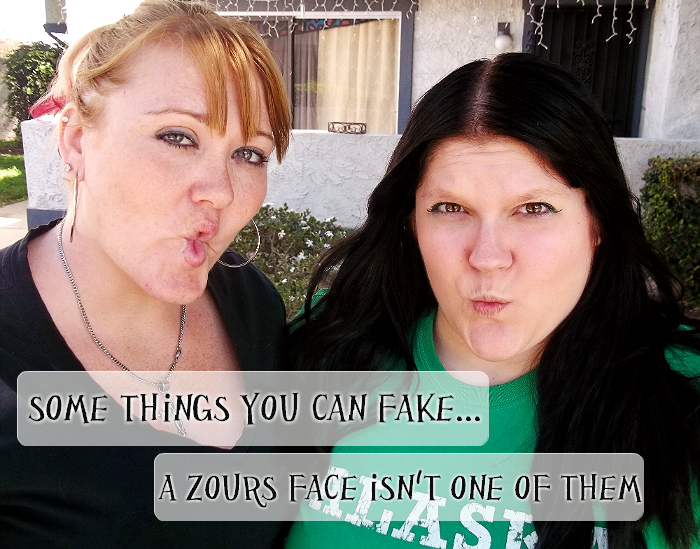 You can't fake a #ZoursFace! #shop