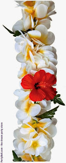 red_white_flower_garland