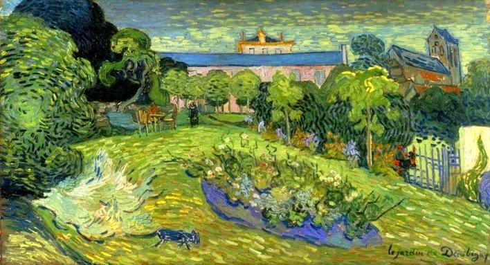 El museo de hipatia december 2011 for Jardin a auvers van gogh