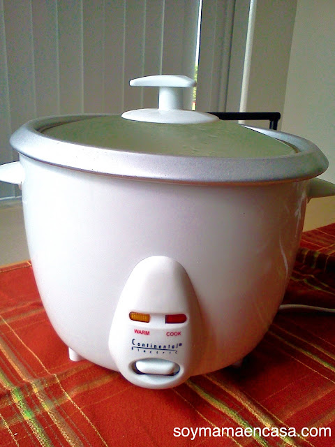 arrocera o rice cooker