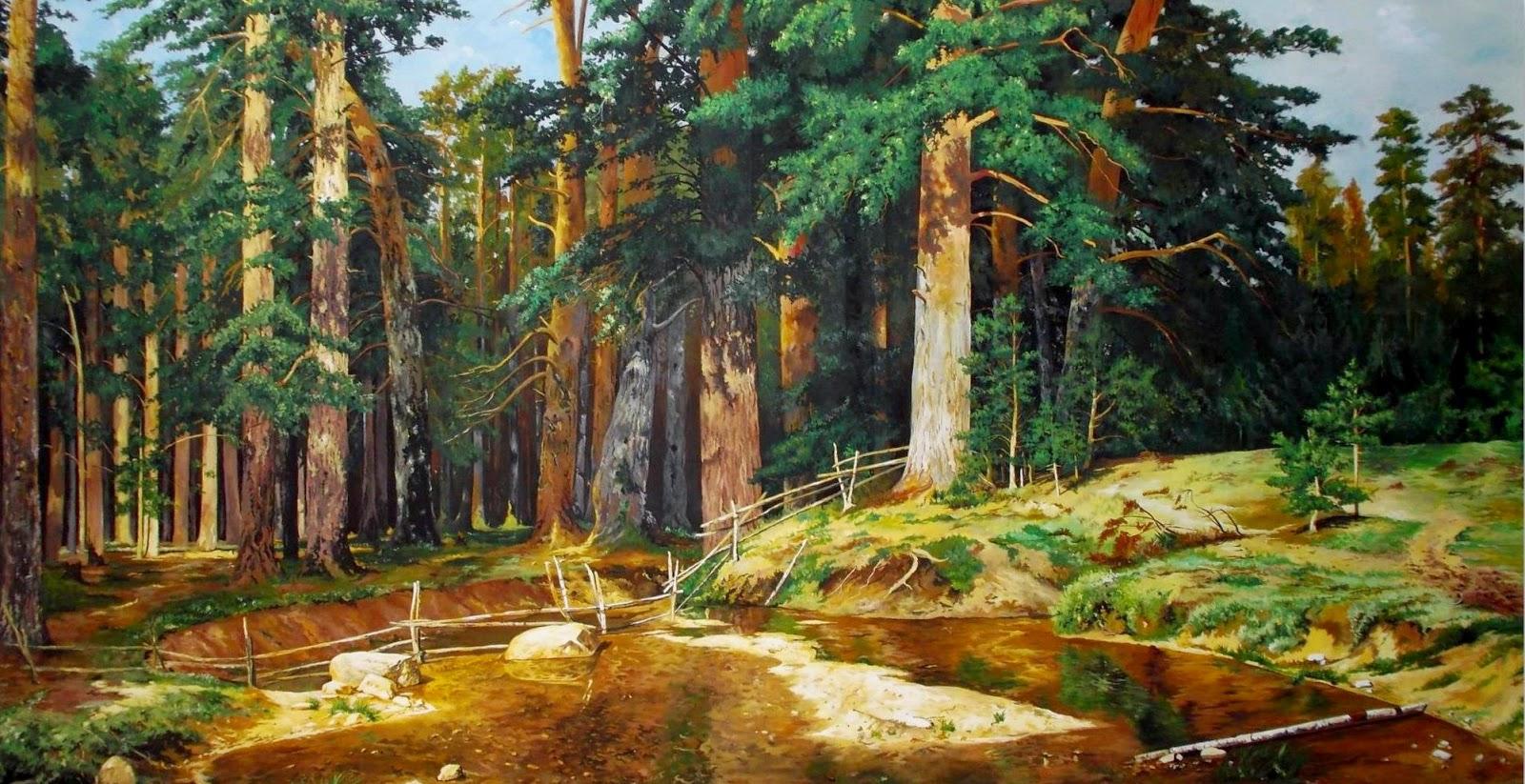 laminas-de-paisajes-naturales-pintura