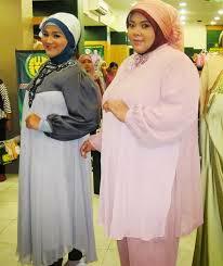 Tips Baju Muslim Untuk Wanita Gemuk