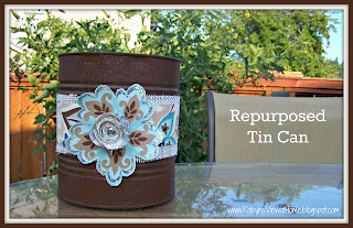Repurposed Tin Can