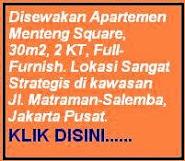Info Sewa Apartemen Jakarta Pusat