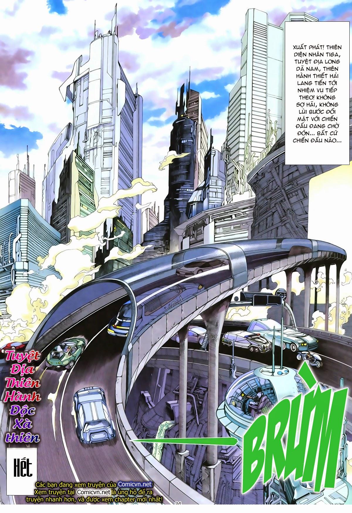 Tuyệt Địa Thiên Hành chap 8 Trang 33 - Mangak.info