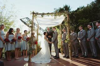 Kent Buttars, Seattle Wedding Officiant, celebrating Juanita and Jon's wedding