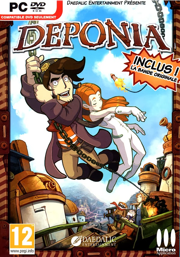 Deponia - Full Version 3.23GB