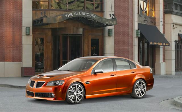 ポンティアックG8 | Pontiac G8 (ホールデン・コモドアのバッジエンジニアリング)