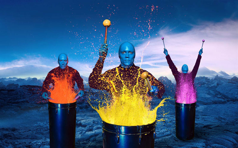 I M Blue Blue Man Group 81