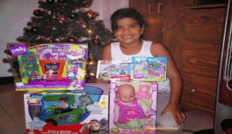 regalos del niño Jesus