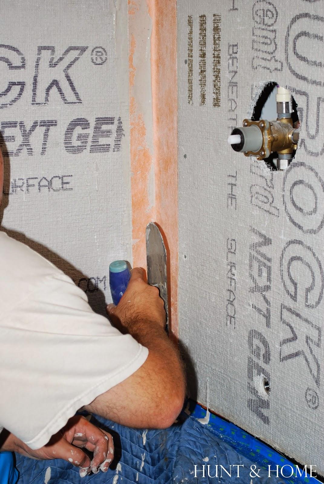 how to install kerdi tape