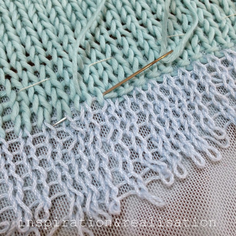 Open Mesh Knitting Stitches : inspiration and realisation: DIY fashion blog: DIY - MK sweater with sheer me...