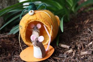 boneka flanel tikus