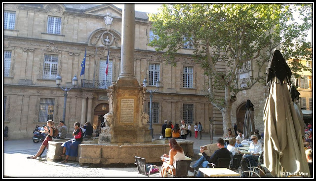 Aix en provence promenade place fontaines, ue faire à Aix en Provence week-end