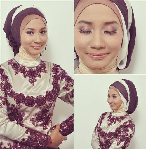 model hijab dan baju kebaya wisuda muslimah terbaru 2017/2018