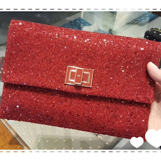 Anya Hindmarch Glitter Valorie Clutch ~Open for pre-order~