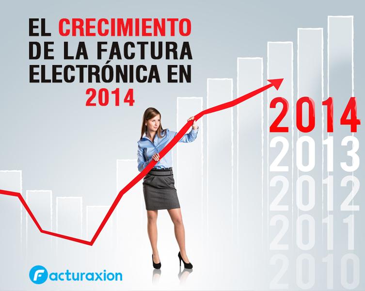 EL CRECIMIENTO DE LA FACTURA ELECTRÓNICA EN 2014.